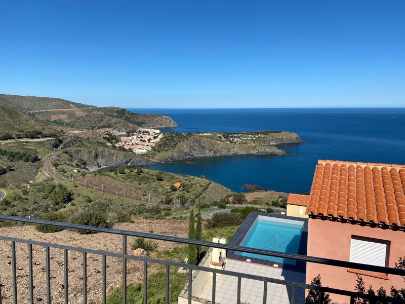 Amazing sea views from every room for this 4 bedroom villa with pool