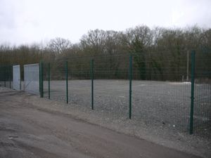 Secure Yard at Shadoxhurst