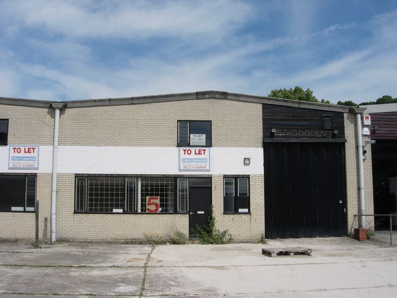 Industrial Units/stores For Sale Dover£195,000
