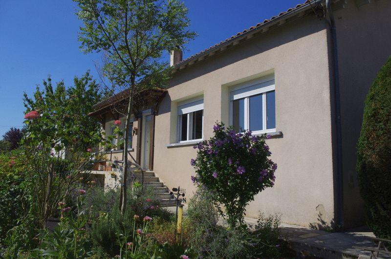 Village house with mature garden