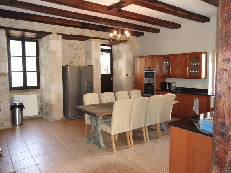 Magnificent renovated château + guesthouse + pool in 5 acres
