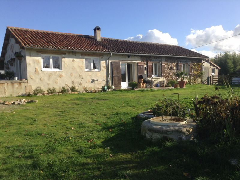 Lovely refurbished bungalow with views and 1.4 hectares of land