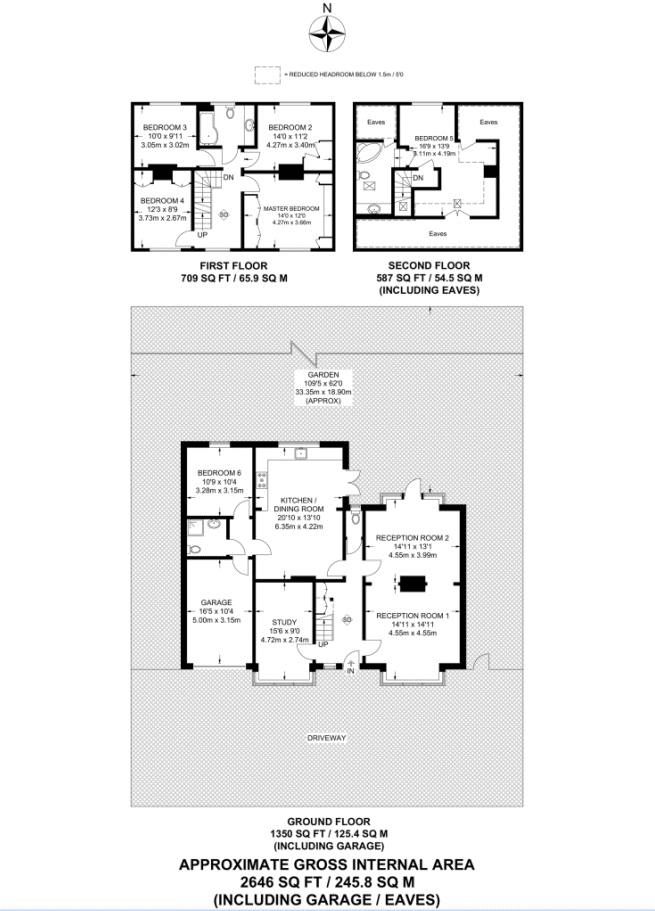 6 bedroom detached house For Sale in Carshalton - floorplan 1.