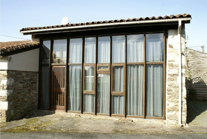 Stone built cottage and converted barn