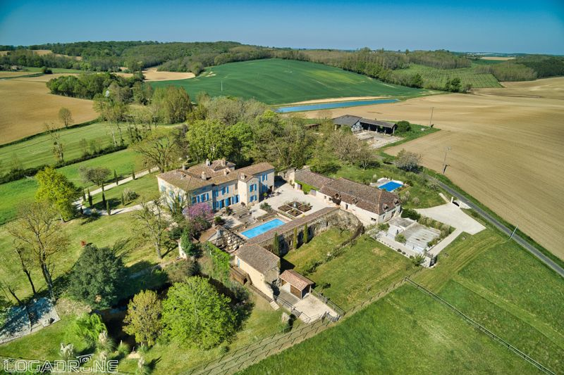 Stunning Chateau with 4 gites and 3 swimming pools
