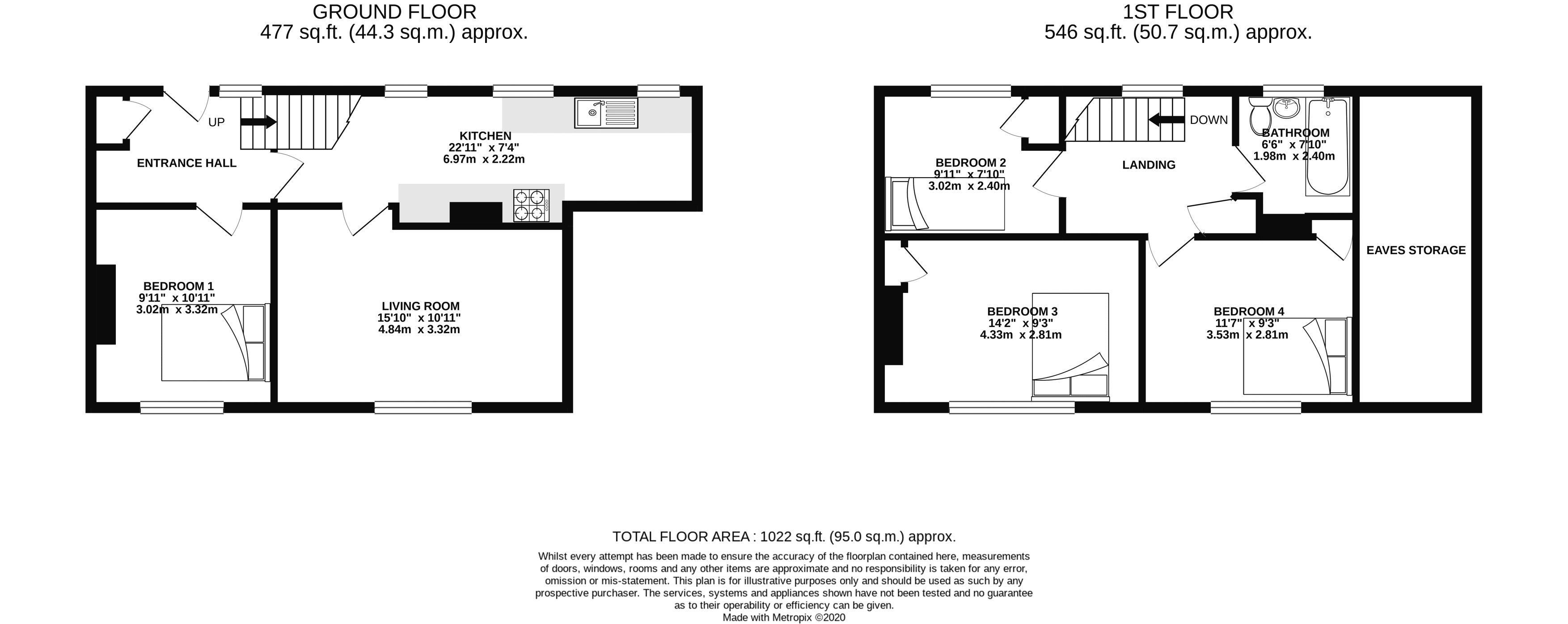 Floor plans for Ashurst Road, Brighton property for sale in , Brighton by Coapt