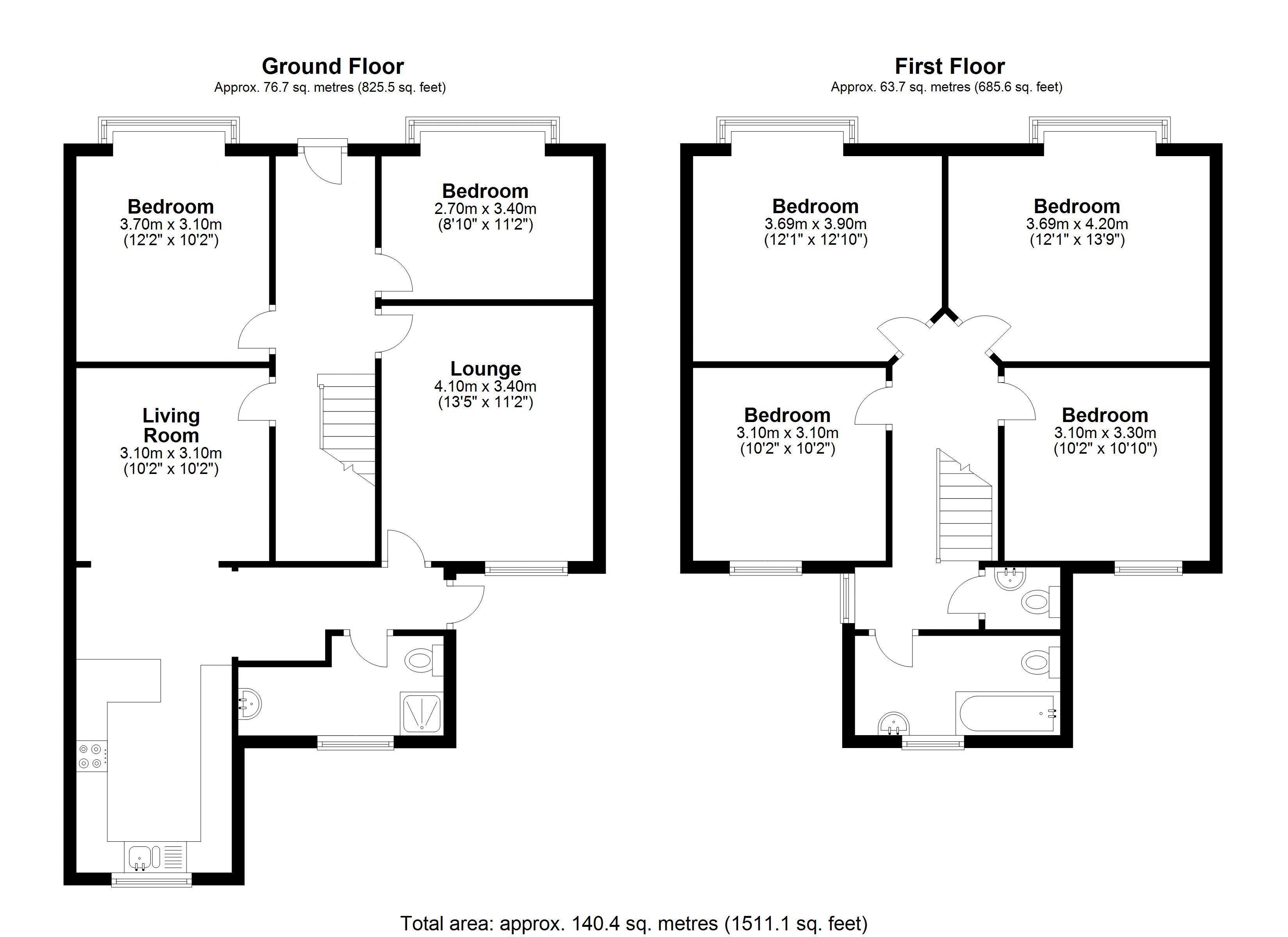 Floor plans for Riley Road, Brighton property for sale in Coombe Road, Brighton by Coapt