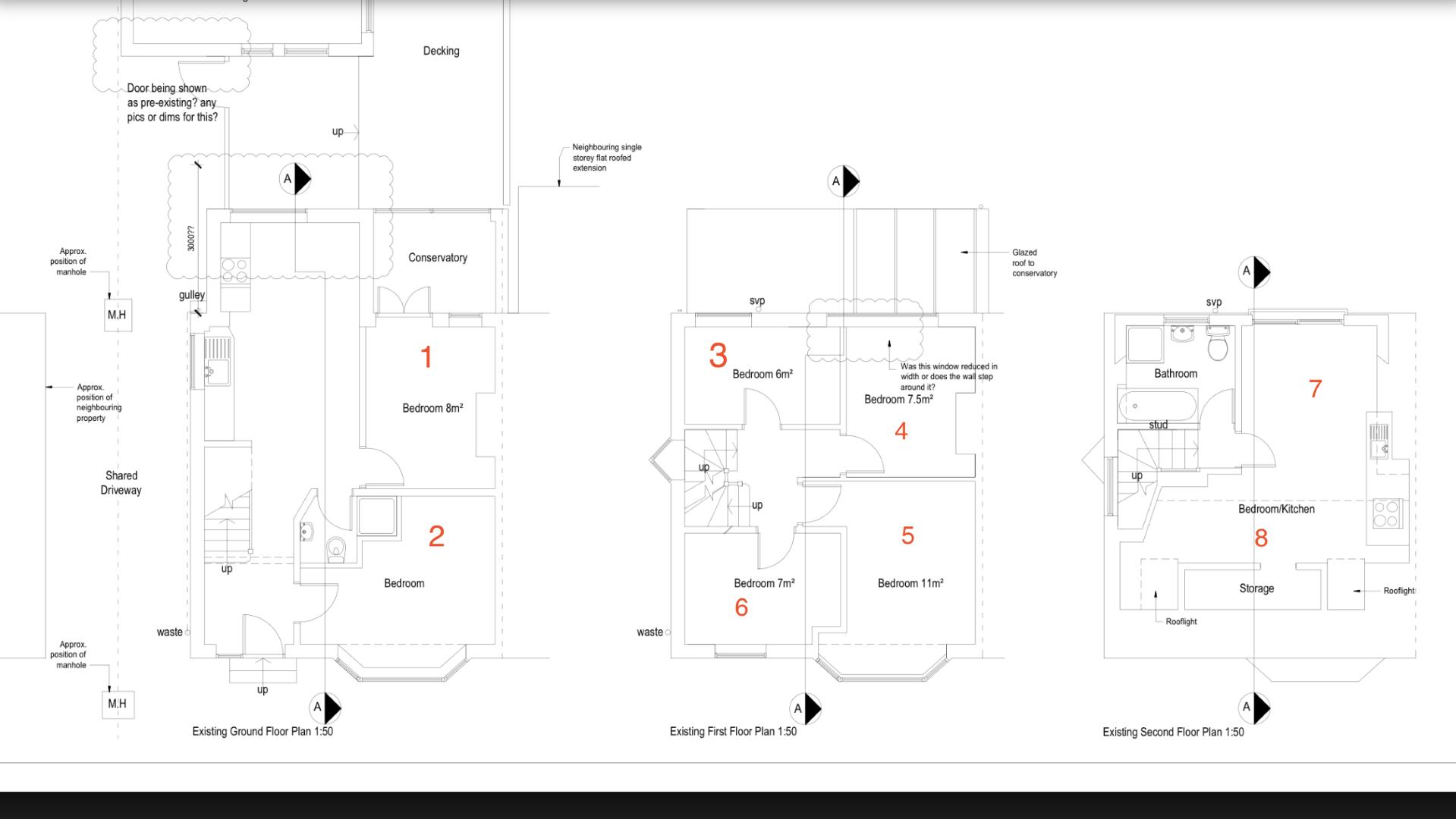 Floor plans for Upper Bevendean Avenue, Brighton property for sale in Bevendean, Brighton by Coapt