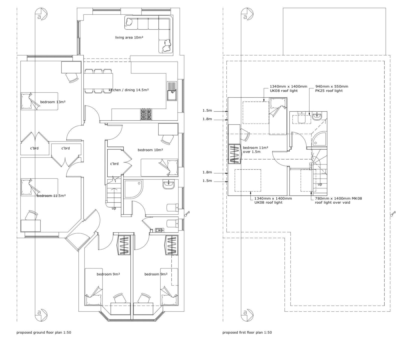 Floor plans for Jevington Drive, Brighton property for sale in , Brighton by Coapt