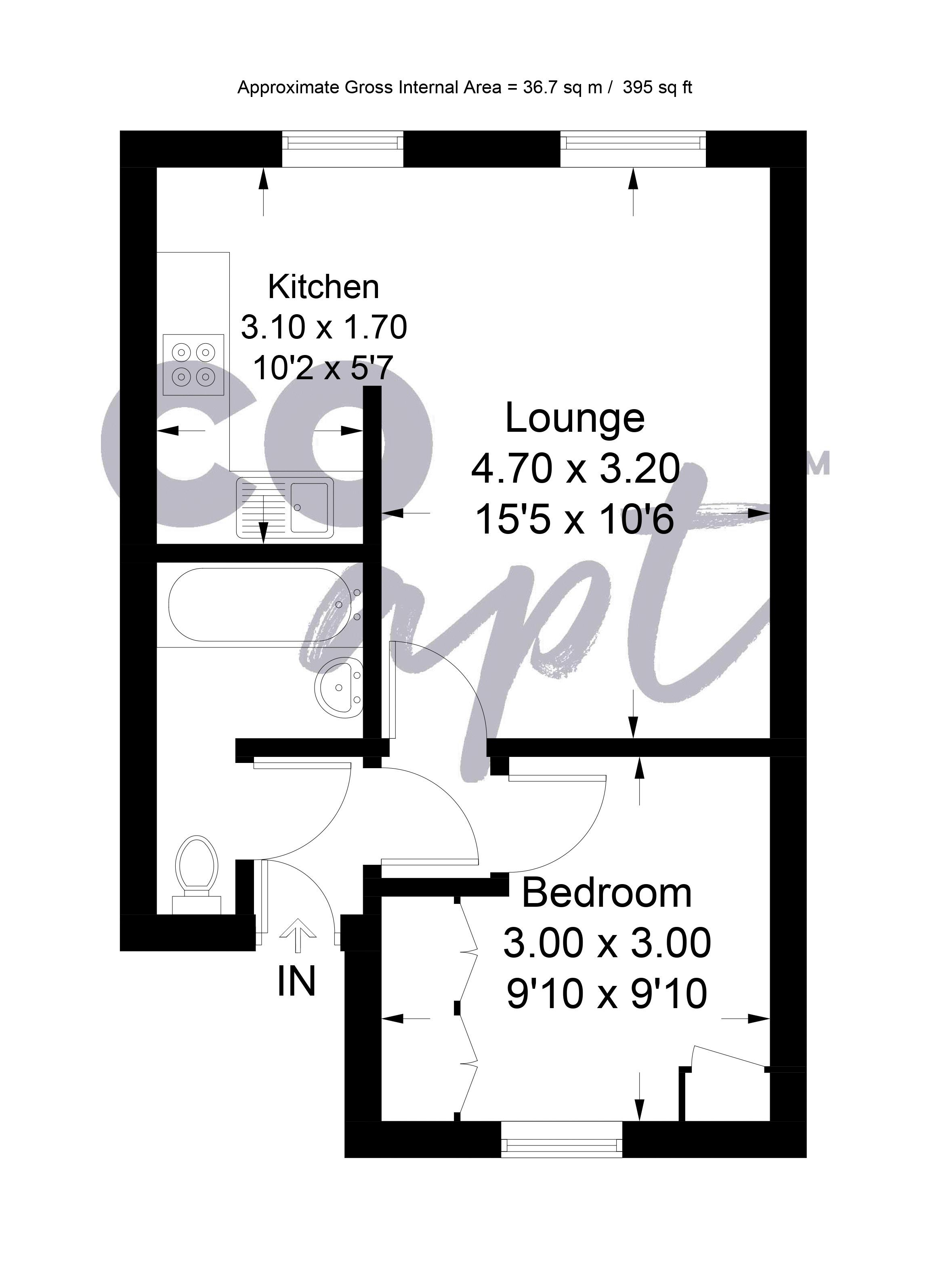 Floor plans for Montpelier Road, Brighton property for sale in Hove, Brighton by Coapt