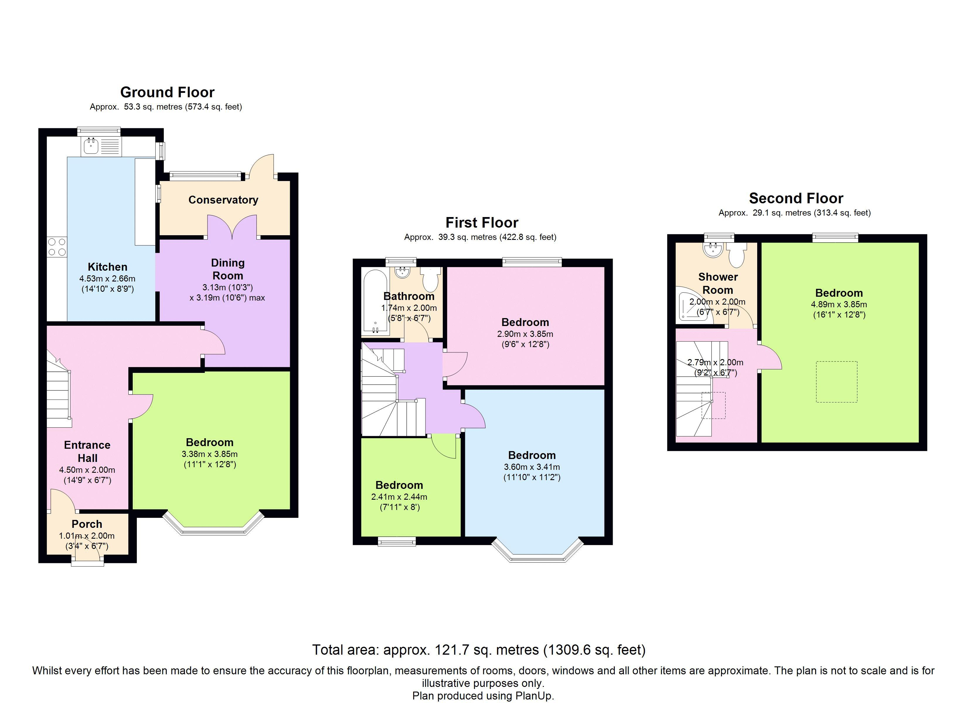 Floor plans for Carlyle Avenue, Brighton property for sale in Coombe Road, Brighton by Coapt