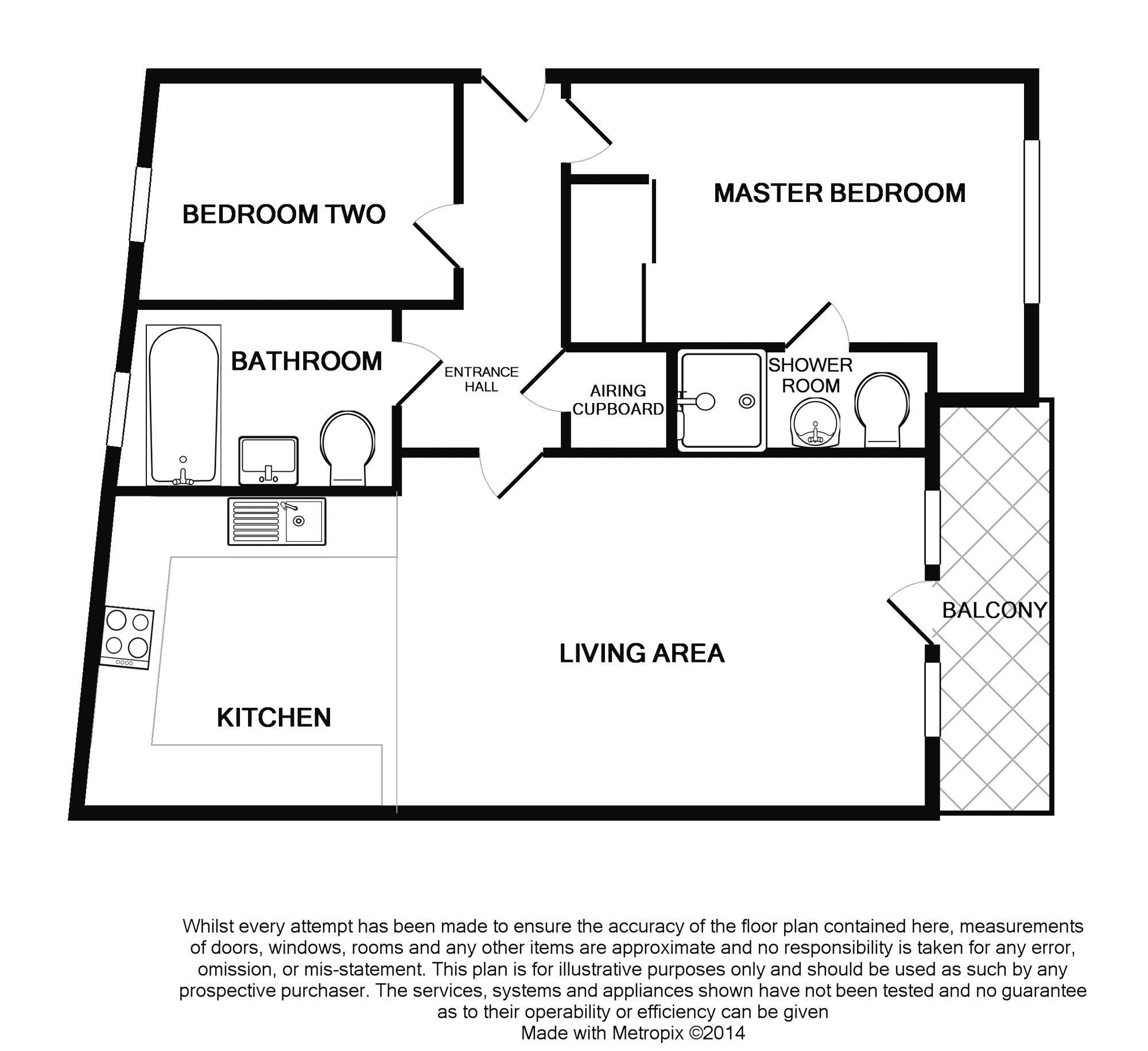Floor plans for West Street, Brighton property for sale in Seafront, Brighton by Coapt
