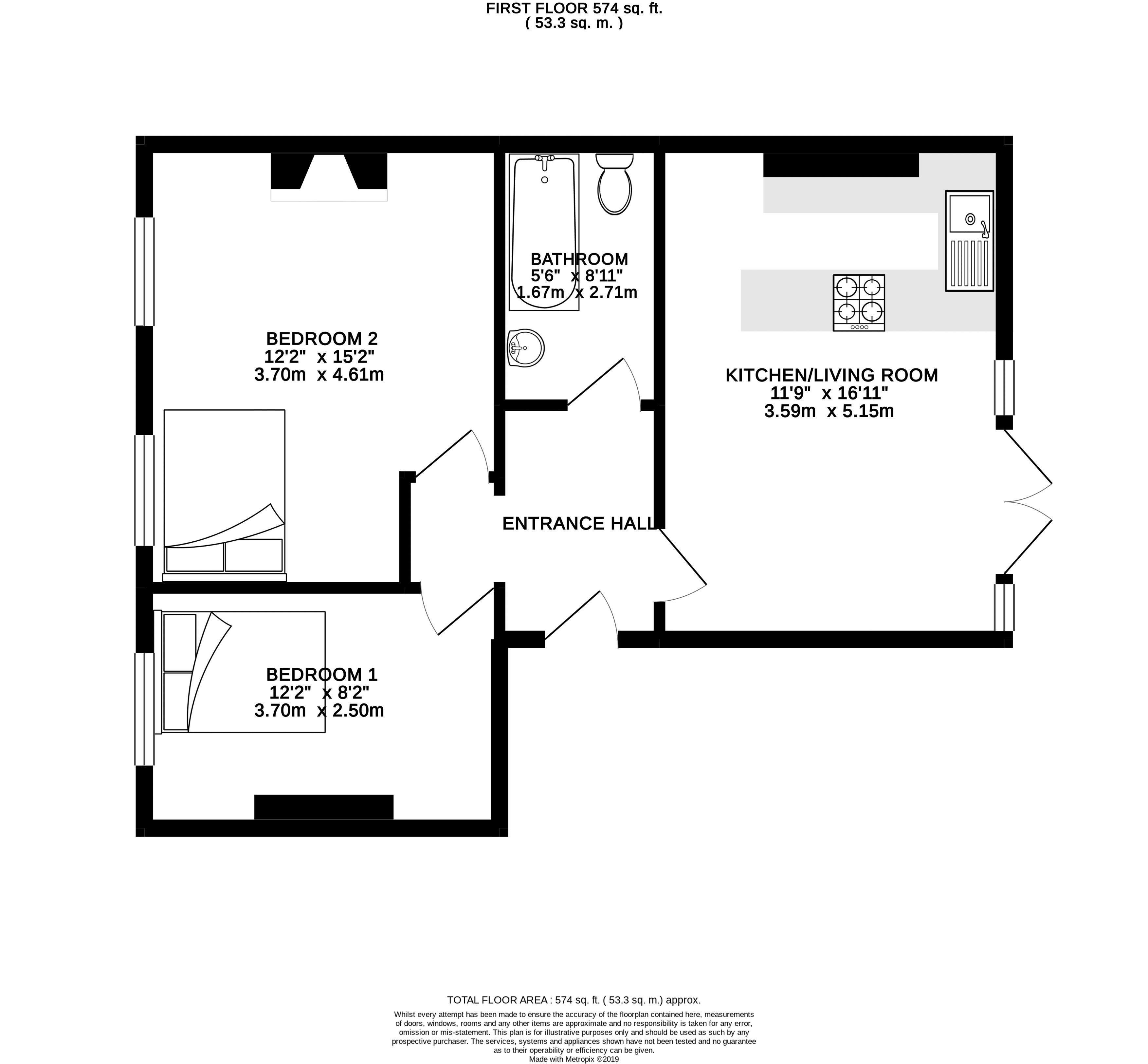 Floor plans for London Road, Brighton property for sale in London Road, Brighton by Coapt