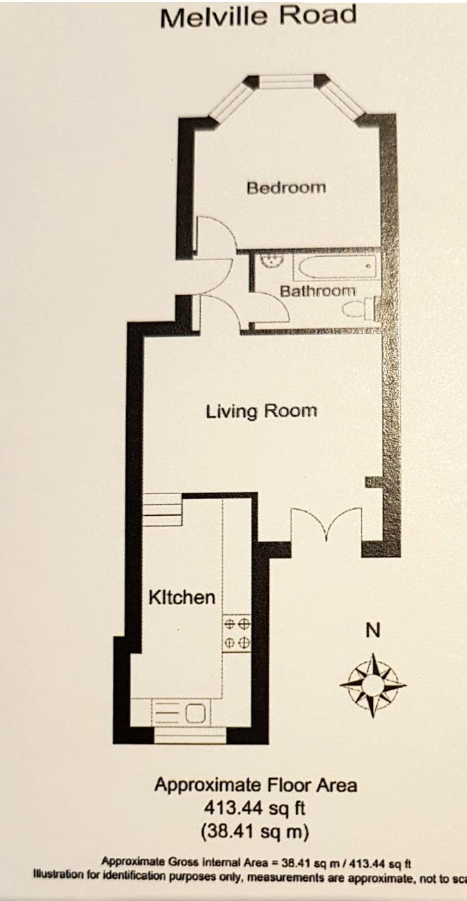 Floor plans for Melville Road, Hove property for sale in Seven Dials, Brighton by Coapt