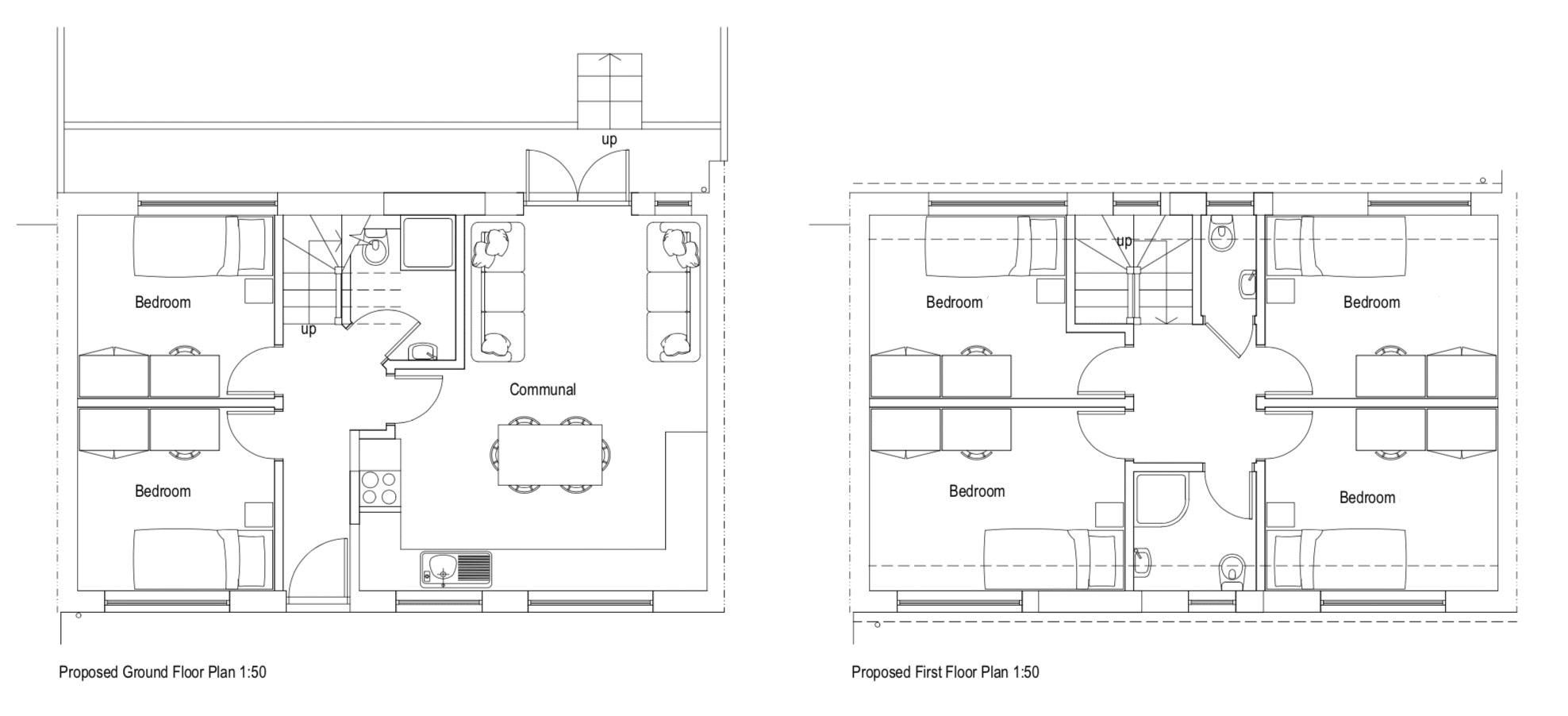 Floor plans for Twyford Road, Brighton property for sale in Coldean, Brighton by Coapt