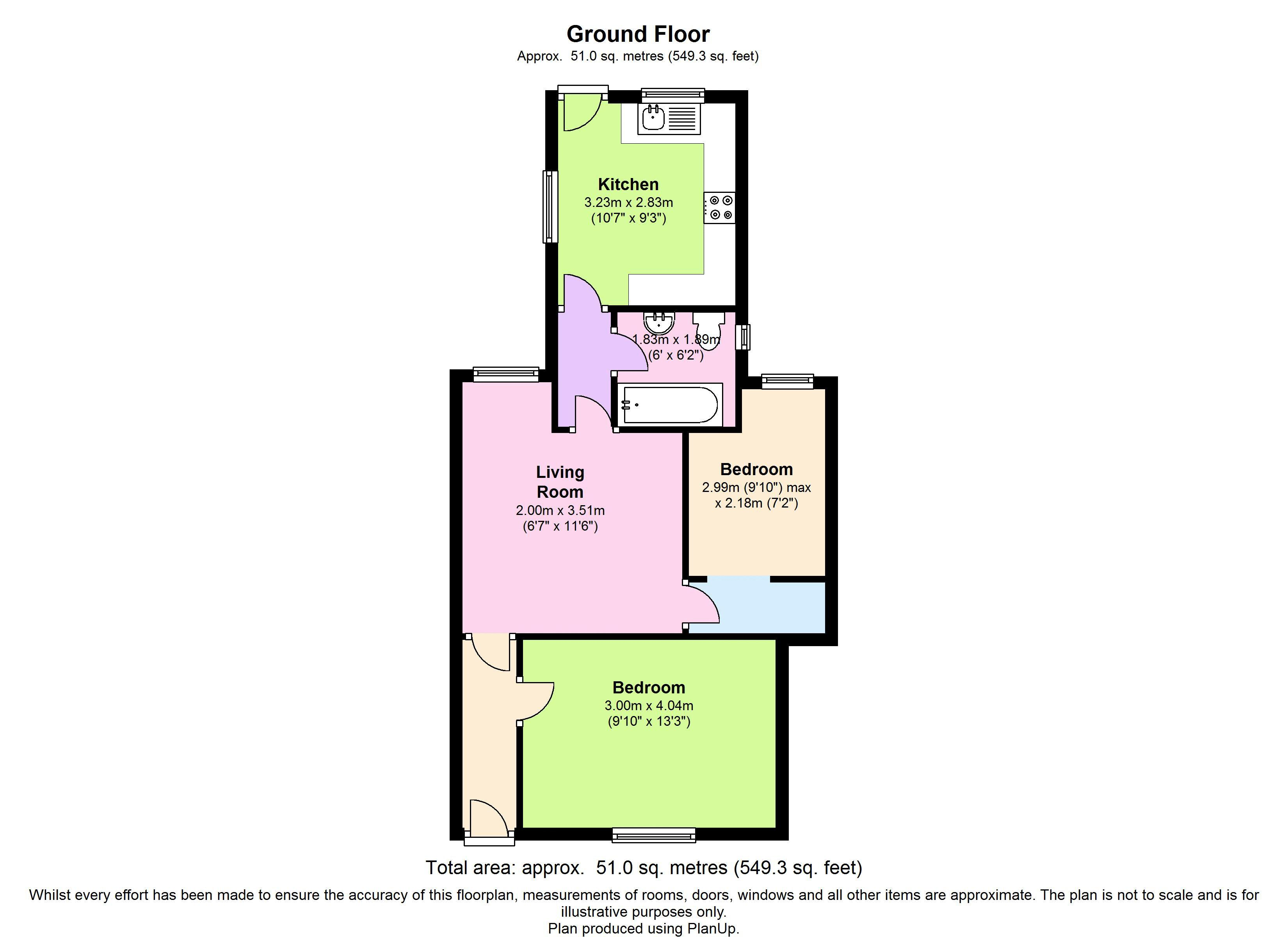 Floor plans for May Cottages, Hollingdean Road, Brighton property for sale in Lewes Road South, Brighton by Coapt
