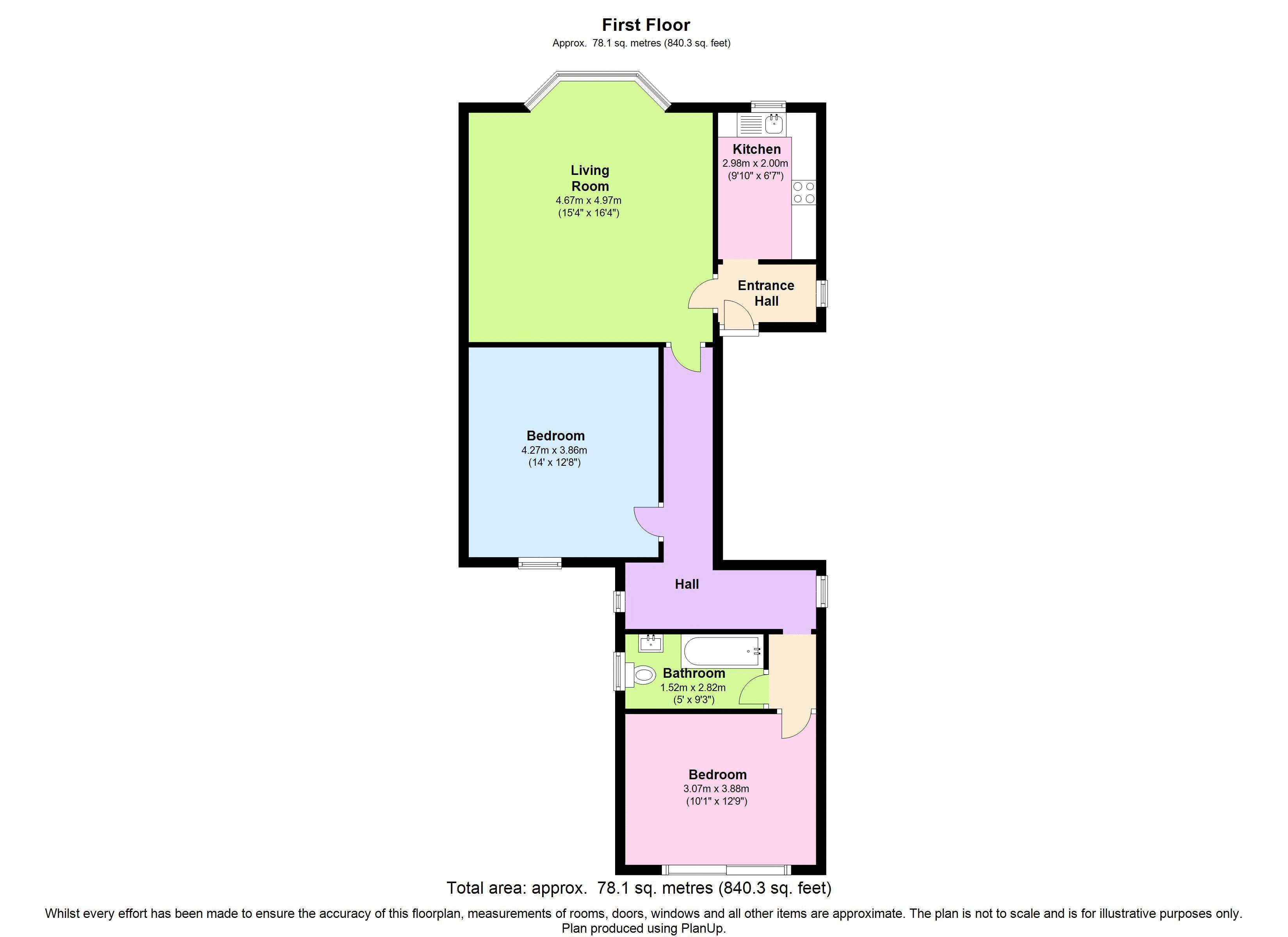 Floor plans for 22 Wilbury Gardens, Hove property for sale in Hove, Brighton by Coapt