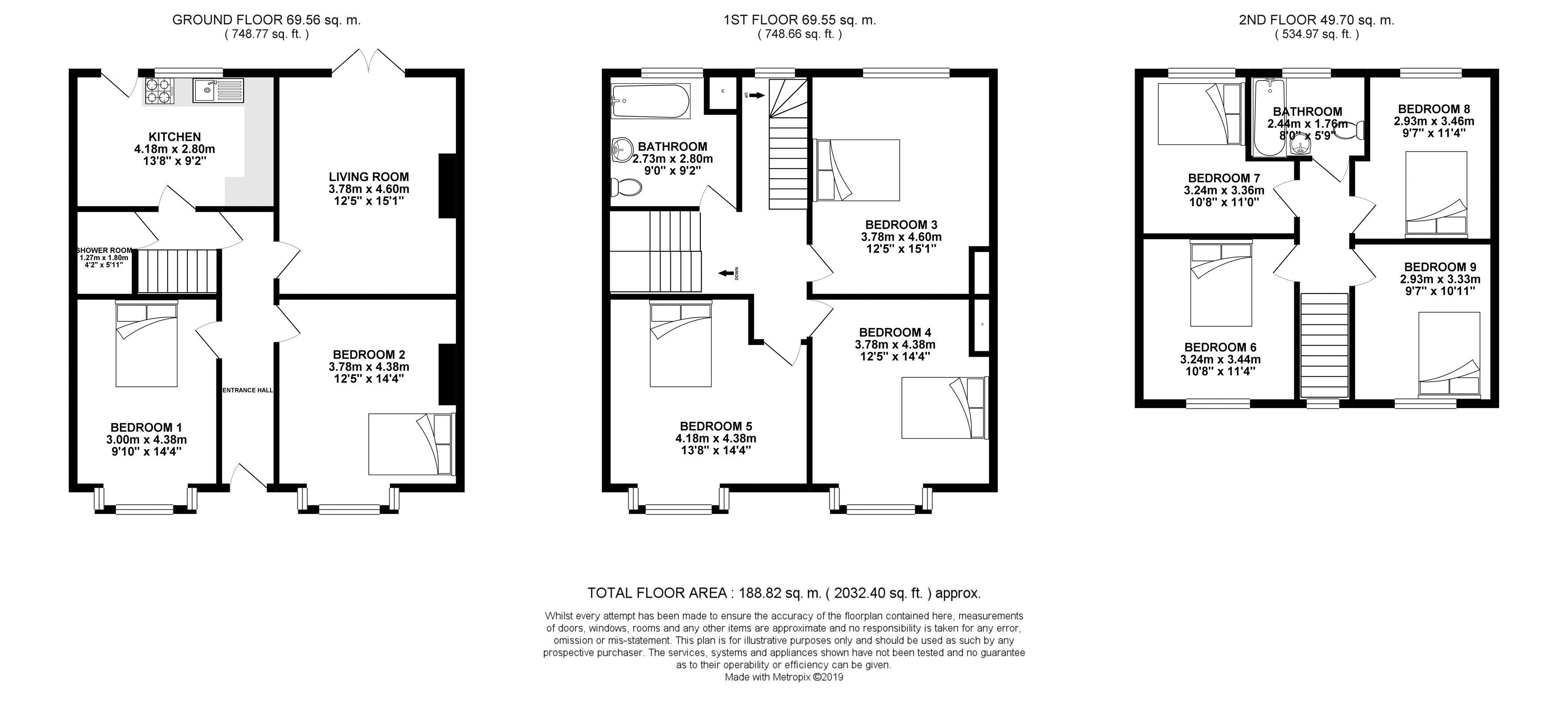 Floor plans for Coombe Road, Brighton property for sale in Coombe Road, Brighton by Coapt