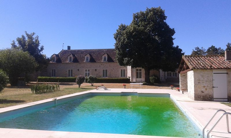Beautiful French country estate with land