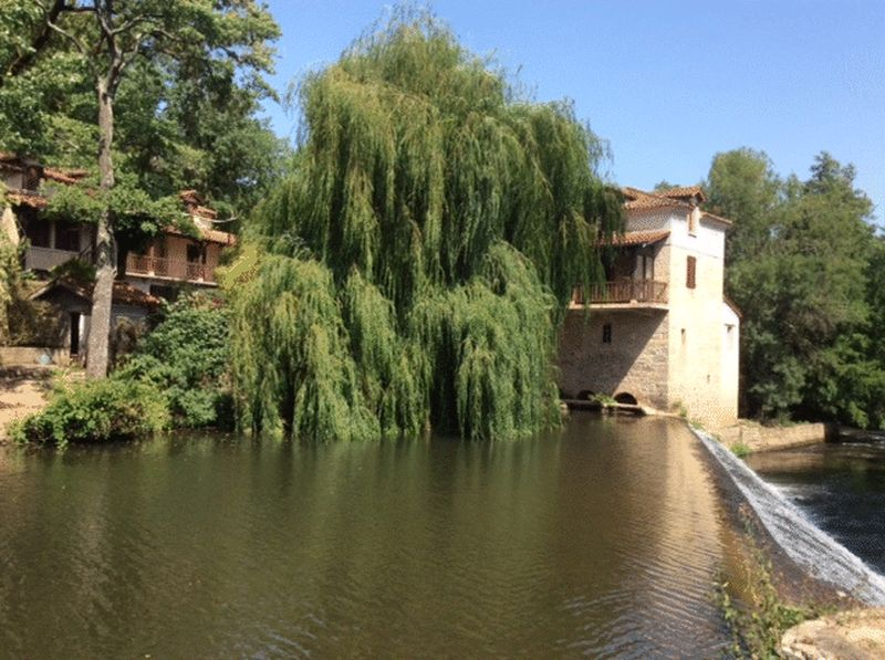 Mill house with gite in beautiful location