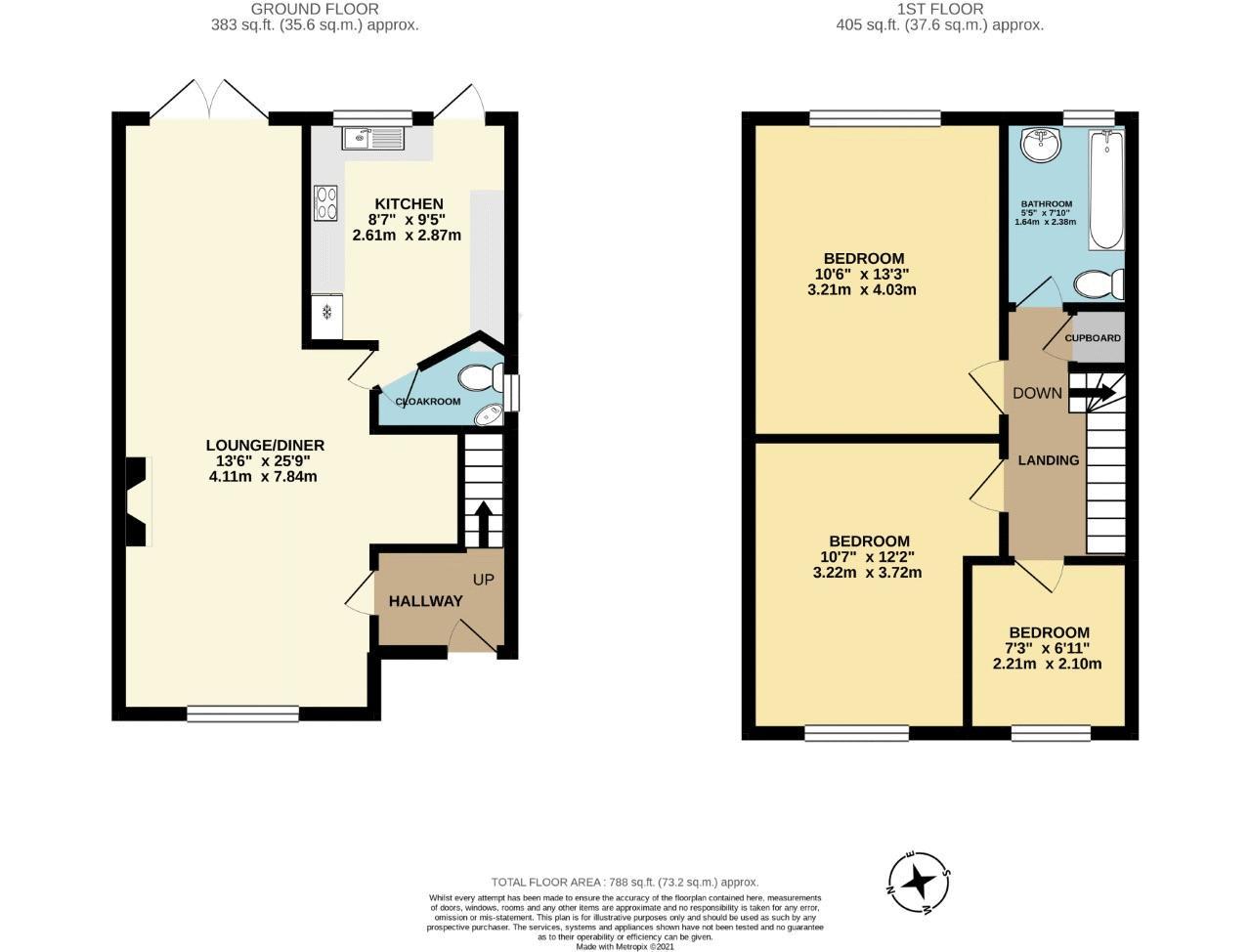 3 bedroom semi detached house SSTC in Sutton - floorplan 13.