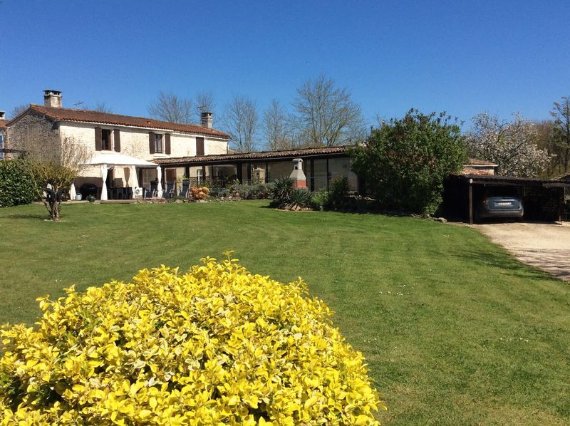 Highly successful gite business with indoor pool and events barn.