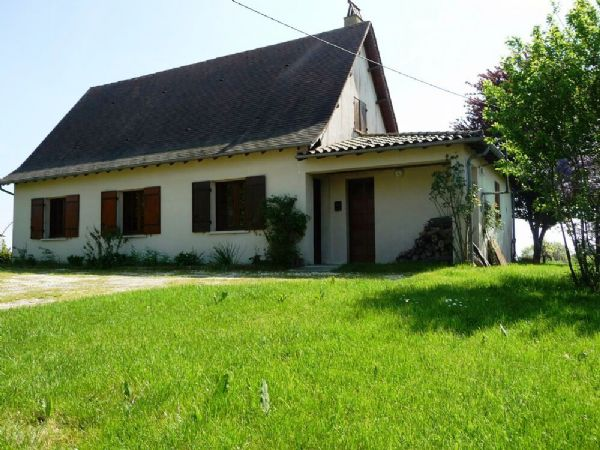 An attractive detached house just a short walk to the village