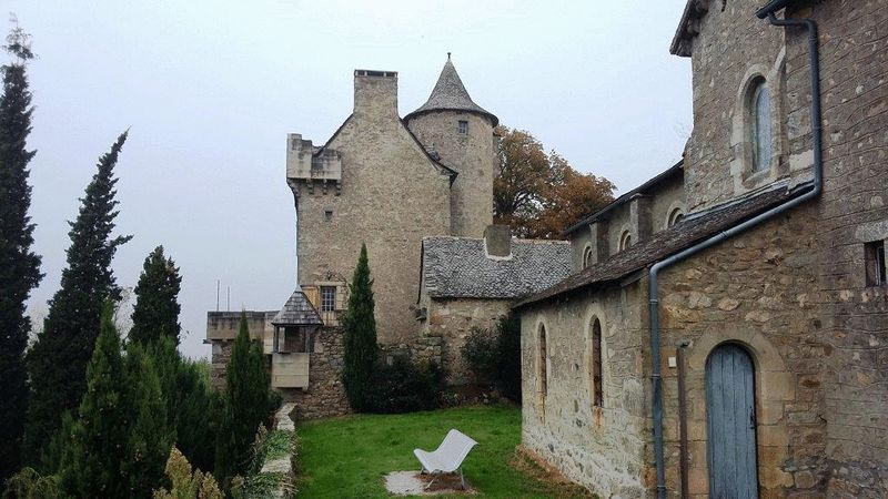 Impressive 5-bedroom chateau restored by architect