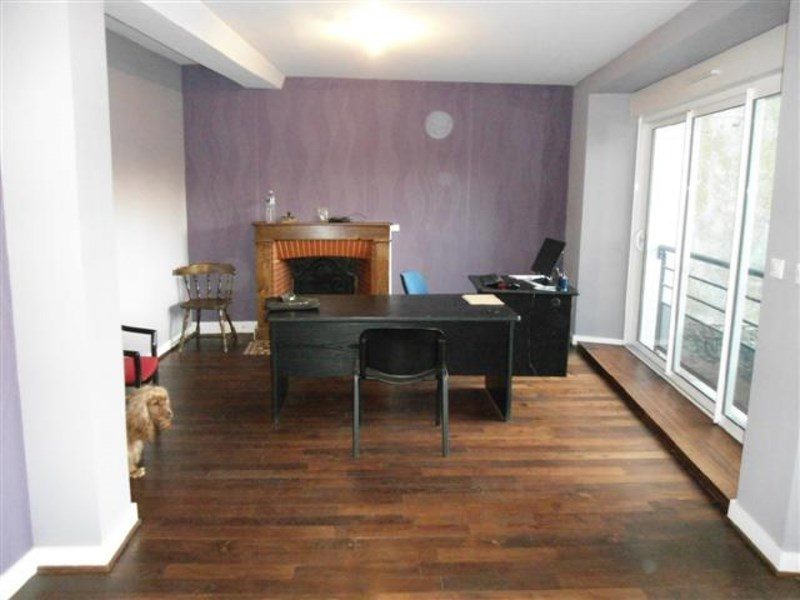 Town house converted into office premises in North Dordogne town, Perigord area