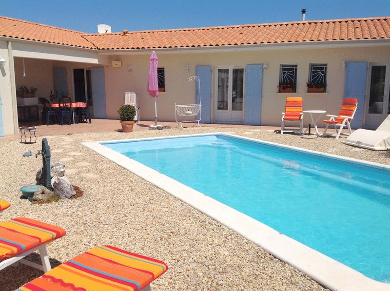 Superb economical, modern villa with pool and views