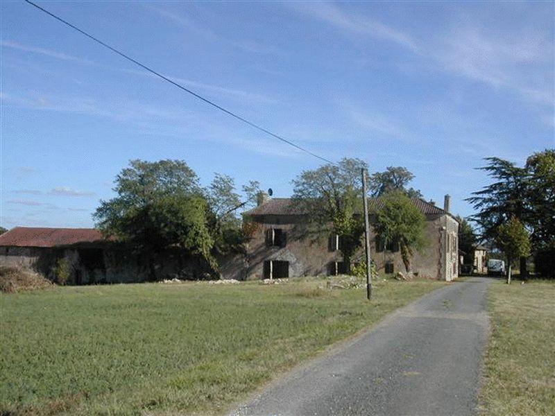 Stone farmstead on 49 acres, including a 6 bedroom main house
