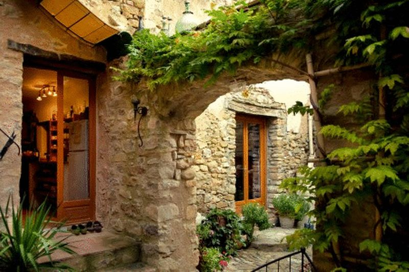 Spacious stone village house and plunge pool with B&B Potential