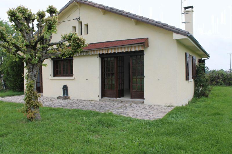 House with pond near Charroux