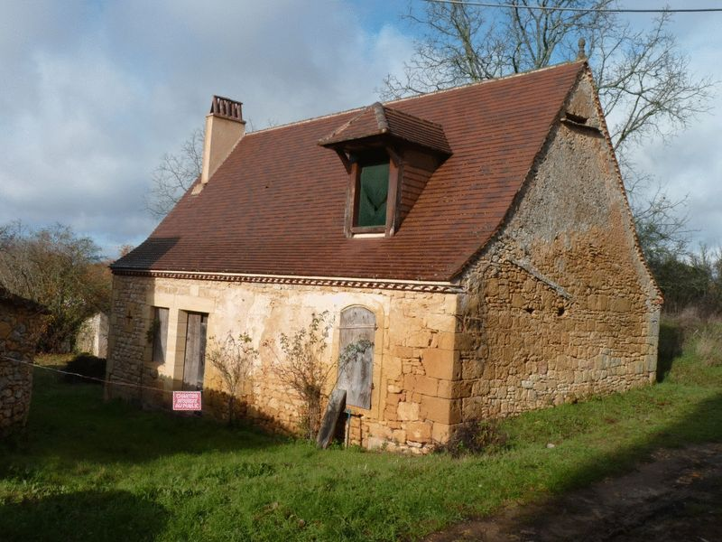 Partially converted character barn, in a peaceful village