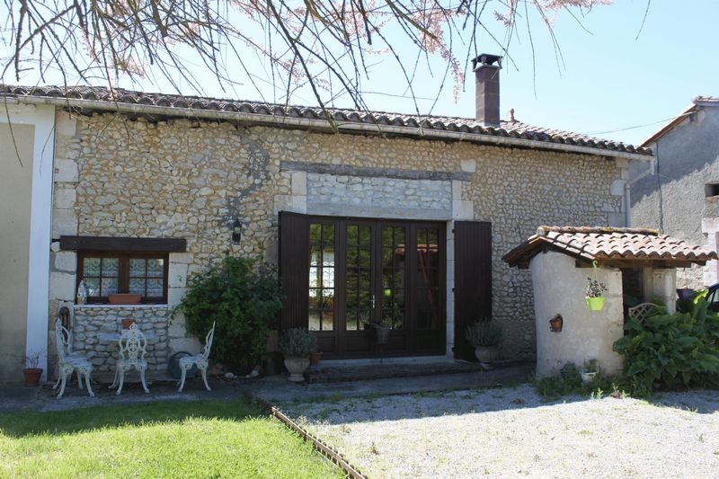 Detached stone property together with small house to renovate