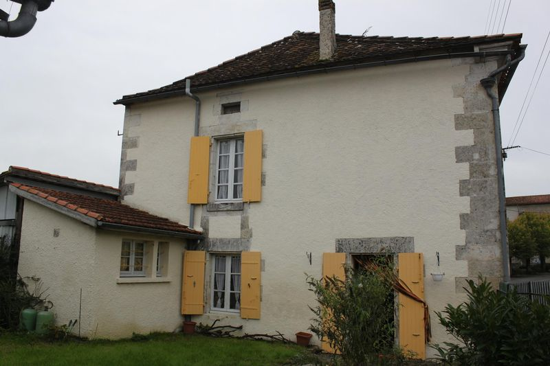 Village house with small garden, and potential to enlarge