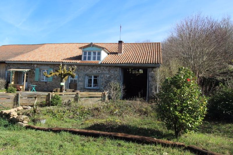 Stone house to renovate, barns, great views