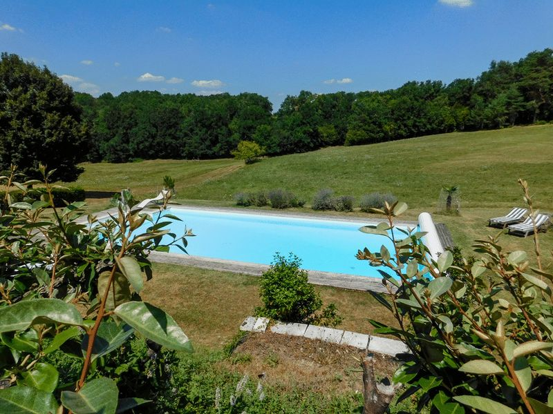 Secluded 13th century chateau with 6 bedrooms, 3 gites, over 18 hectares of land