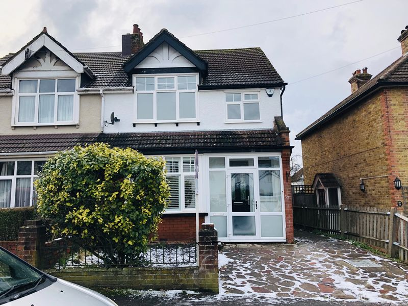 COMPLETELY REFURBISHED THREE BEDROOM SEMI-DETACHED HOUSE